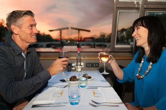 Amsterdam Dinner Cruise with 4-Course...
