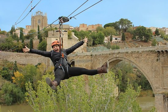 Toledo Zip-Line Experience, Walking...
