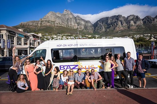 14-Day Pass Hop-on Hop-off Baz Bus Travel Pass – Cape Town Departure