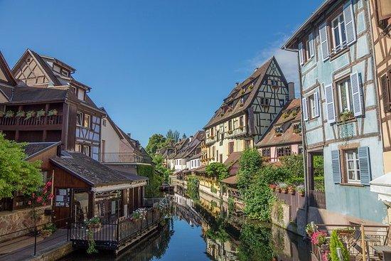 Aus Straßburg: Colmar...