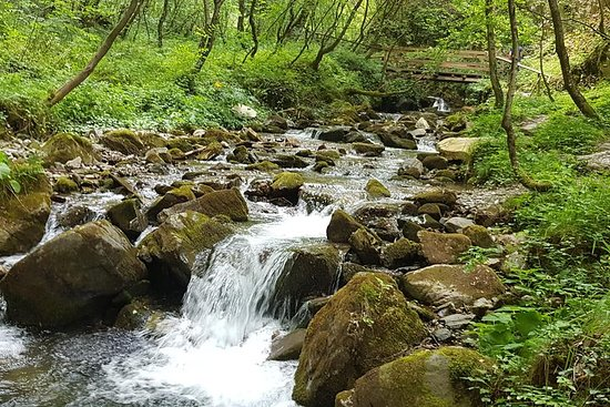Mavrovo, Duf Wasserfall und Bigorski...
