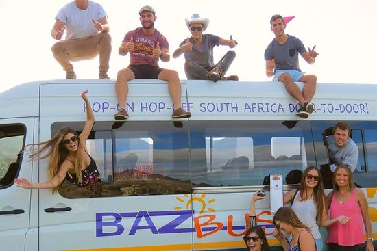 8-dagers pass Hop-on Hop-off Baz Bussreiser Pass -Durban Avgang
