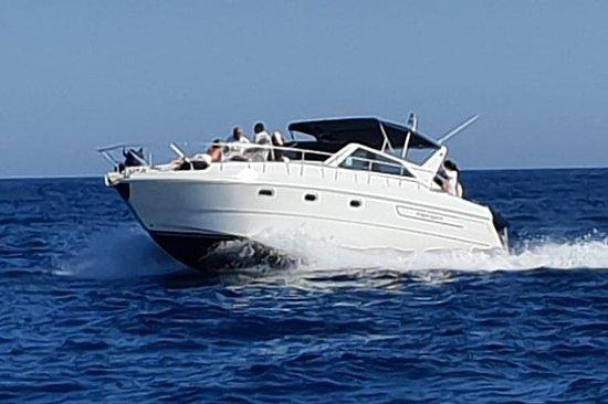 Capri barca privata,partenza da...