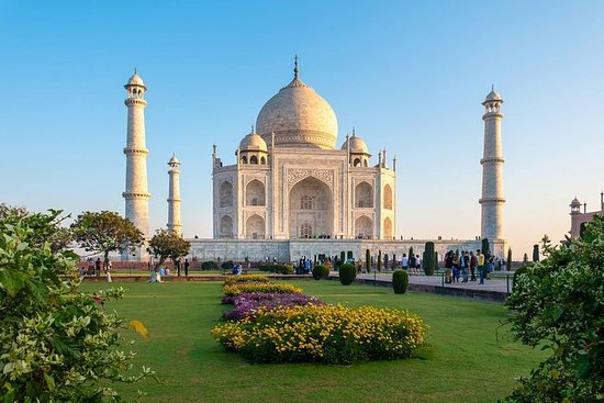 Taj Mahal One Day Tour With Lunch From...