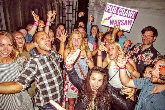 # 1 Pub Crawl Warsaw con Barra...