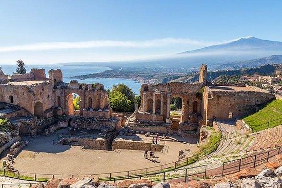 Etna y Taormina de Cefalù