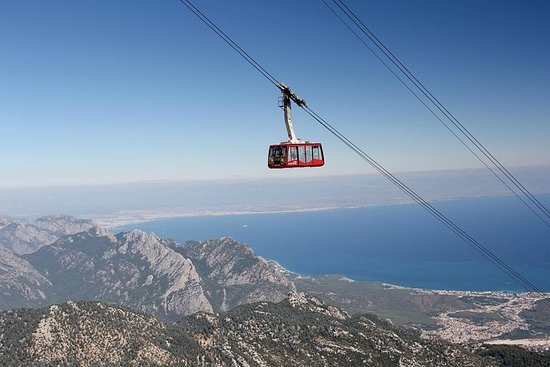 Olympos Cable Car Ride med overføring