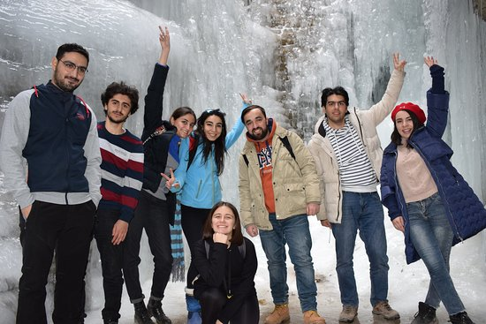 Quba, Azerbaiyán: Photo Frozen Griz tour. You were  perfect, guys !