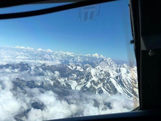 Vol en montagne (autour du mont...