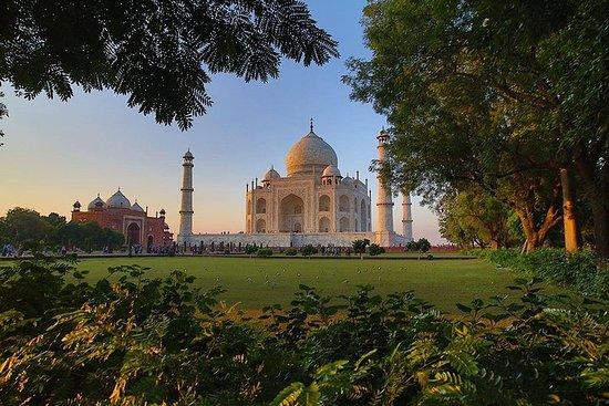 Visite du même jour au Taj Mahal