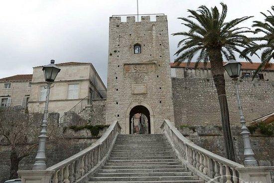 Korčula-tour met wijnproeverij vanuit ...