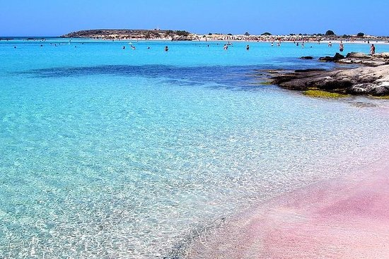 Elafonisi ( The pink sand beach)