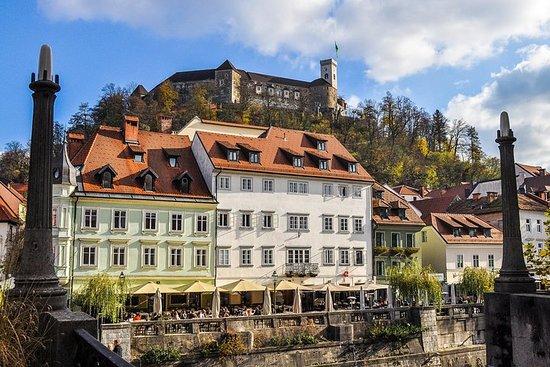Rundgang durch Ljubljana und die Burg...
