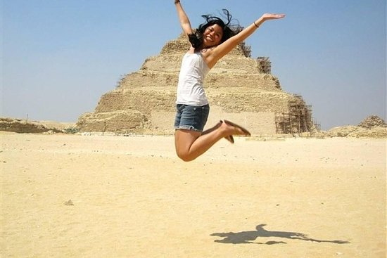 Dagstur til Giza-pyramiderne Memphis...