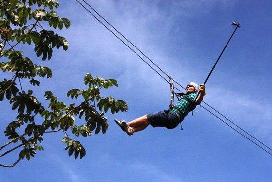 Zip lining Adventure