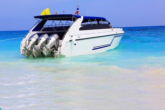 Phi Phi, Maya Bay Khai Island lancha...