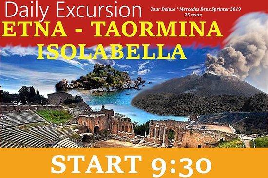 ETNA-TAORMINA-BEAUTIFUL ISLAND Tour