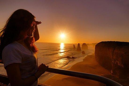 墨尔本大洋路夕阳游