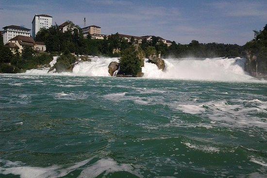 Cascate del Reno Sciaffusa con tour in barca al tour privato Rock da