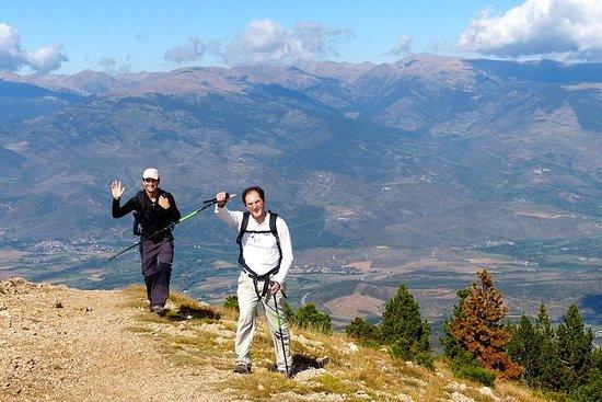 Pirenei che fanno un'escursione da Barcellona
