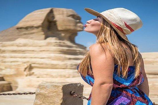 Visite-escale: pyramides de Gizeh...