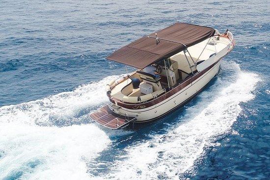 从波西塔诺出发的卡普里岛和阿马尔菲私人乘船游览(7/8小时)