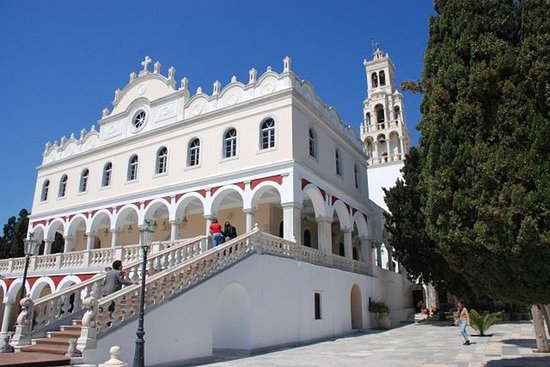 Besøk Tinos fra Mykonos