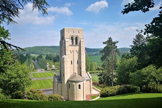 WW1 Belleau Wood and American Monument in Château-Thierry - Day trip...