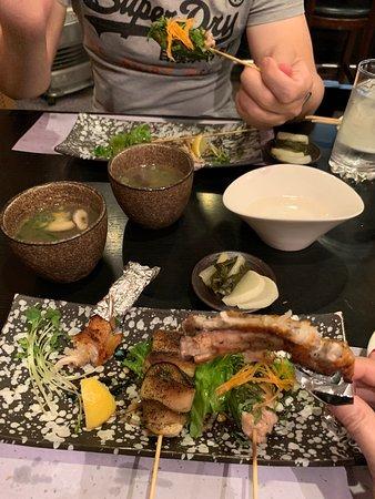 Awesome traditional yakitori!