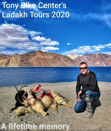 #Ladakh #packagetours on genuine prices with best services. #RoyalEnfield, #MUV, #Tempotraveler..all available. For details visit: https://www.facebook.com/tonybikecentre/events/admin/ Write to: tonybikecentre@gmail.com Call : 9899835312, 981128168. www.tonybikecentre.com TBC Travel Group — feeling happy at Tony bike center