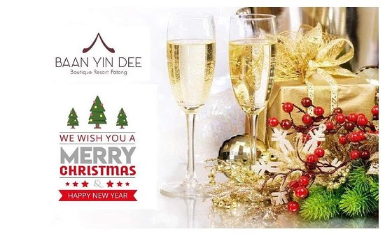 Merry Christmas to our lovely fans from Baan Yin Dee Boutique Resort. May the Christmas season fill your home with joy, your heart with love and your life with laughter.  - - Book your Next Luxur Journey Now www.baanyindee.com 📧 reservations@baanyindee.com ☎️ 076 364 591 --------------------------  #baanyindee #luxury #BYD #patonghotel #phiphi #jamesbond #patongbeach #phukethotel #beachdestination #event #familyhotel #coupletravelers #friendlyhotel #Ricerestaurant #phuket.net.