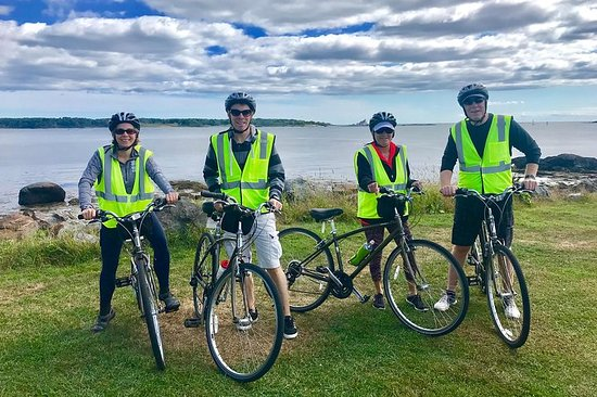 3.5+hrs. Coastal Bike Tour See the Coastline & Tucked Away Seaside...