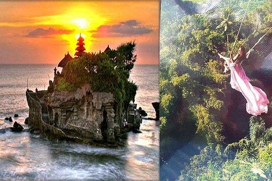 Hideaway Swing Bali Tour et Tanah Lot...