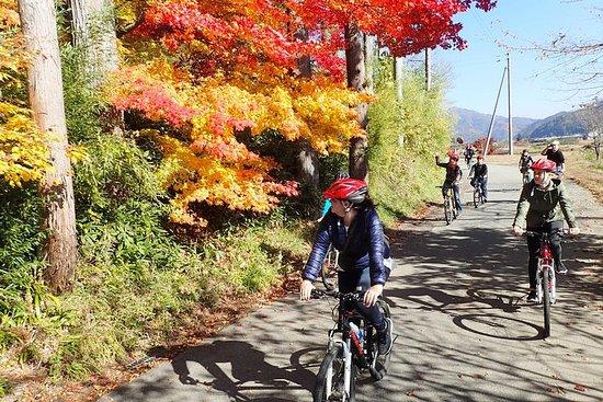 Middag-fietstocht in Hida-Furukawa