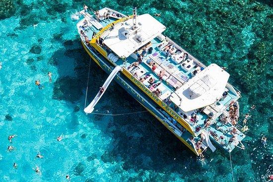 Îles de Gozo et Comino: lagon bleu...