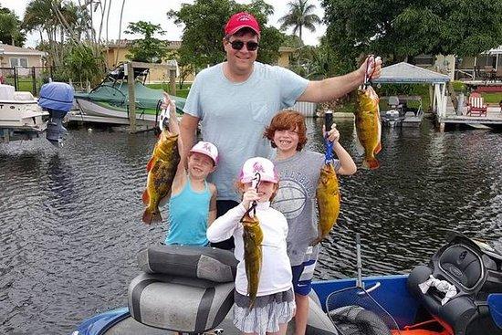 All Day Bass Fishing Trip i nærheten av Boca Raton