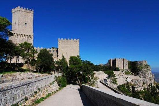 來自巴勒莫的埃里塞和塞傑斯塔一日遊,西西里美食和葡萄酒品嚐