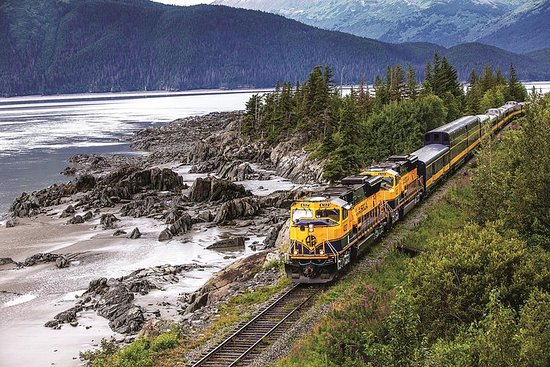 Anchorage ferroviaire d'Alaska à...