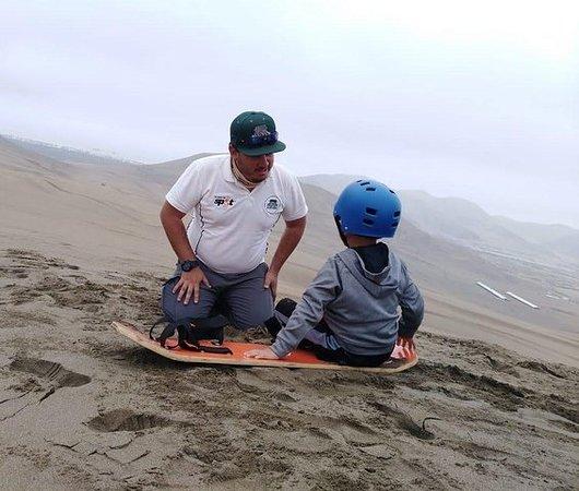 Chilca冒险:全地形和沙子滑块