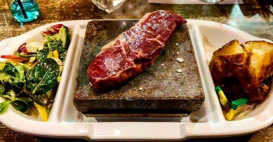 Best hot rock steak EVER