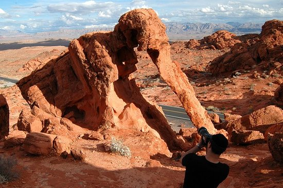 Valley of Fire och Lost City Museum ...