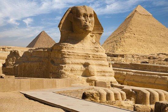 Hurghada: Dagtur til Kairo med fly med...