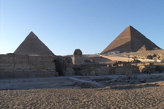 Giza Pyramids og Sphinx Half Day Tour