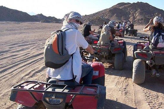 Safari nel deserto con Quad Bike Around