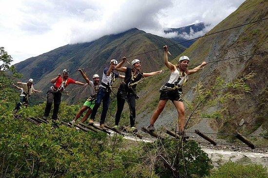 MachupicchuとHuayna Picchuで列車で2日間