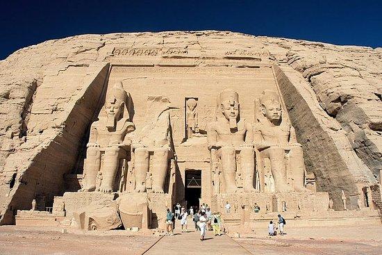 To dages tur til Abu Simbel og Aswan...