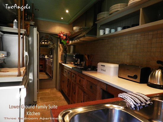 Lower Ground Suite Kitchen
