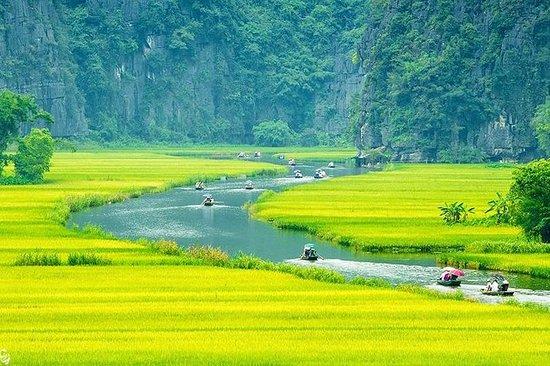 Hoa Lu - Viagem Deluxe Tam Coc com...