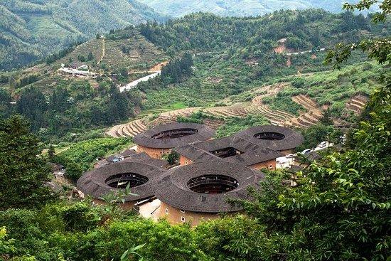Tour privado de un día a Tianluokeng...