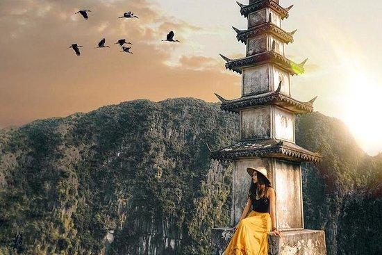 Ninh Binh: Caverna Hoa Lu- Tam Coc- Mua...